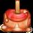 Apple, Caramel Icon