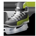Hockey, Iceskate Icon