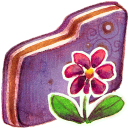 Flower, v Icon