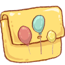 Balloons, Folder, Hp Icon