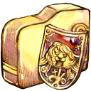 Folder, Security, Shield Icon