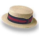 Derby, Hat, Straw Icon