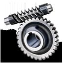 Gear, Worm Icon
