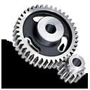 Gear, Spur Icon
