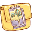 Folder, Hp, Note Icon