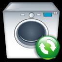 Machine, Refresh, Washing Icon