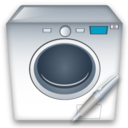 Machine, Washing, Write Icon