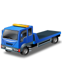 Blue, Recoverytruck Icon