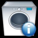 Info, Machine, Washing Icon