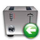 Back, Toaster Icon