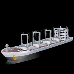Black, Cargoship Icon