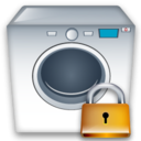 Lock, Machine, Washing Icon