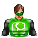 Greenlantern, Technorati Icon