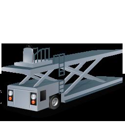 Containerloader, Grey Icon