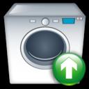 Machine, Up, Washing Icon