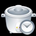 Clock, Maker, Rice Icon