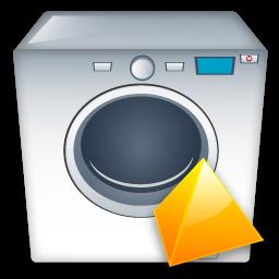 Level, Machine, Washing Icon
