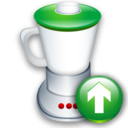 Blend, Up Icon