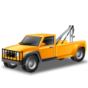 Towtruck, Yellow Icon