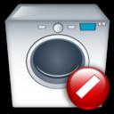 Cancel, Machine, Washing Icon