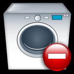 Machine, Remove, Washing Icon