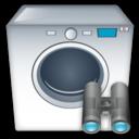 Machine, Search, Washing Icon