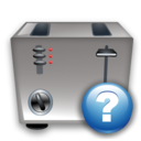 Help, Toaster Icon