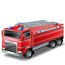 Firetruck, Red Icon