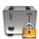 Lock, Toaster Icon