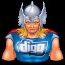 Digg, Thor Icon