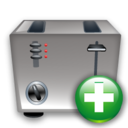 Add, Toaster Icon