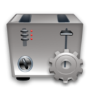 Config, Toaster Icon