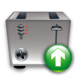 Toaster, Up Icon
