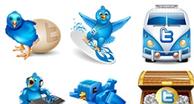 Vector Twitter Icons