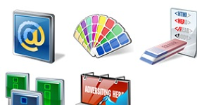 Real Vista Web Design Icons