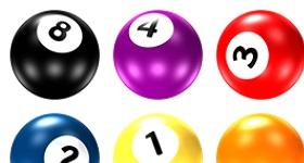 Pool Ball Icons