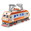Electric, Locomotive Icon