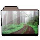 Folder, Forest Icon