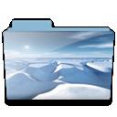 Folder, Ice Icon