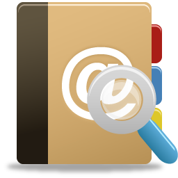 Addressbook, Search Icon