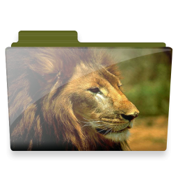 Folder Lion Icon Download Free Icons