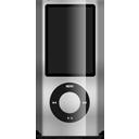 Gray, Ipod, Nano Icon