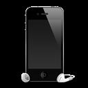4g, Headphones, Iphone, Shadow Icon