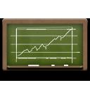 Chalkboard, Diagram Icon
