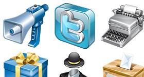 Real Vista Social Icons