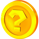 Coin, Question Icon