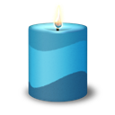 Candle, Colorful Icon