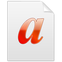@, Font Icon