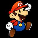 Mario, Paper Icon