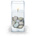 Candle, Water Icon